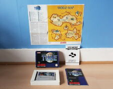 Illusion of Time SNES Complete inc Rare Map