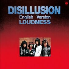 LOW PRICE REISSUE LOUDNESS Disillussion English Version JAPAN CD