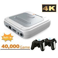 Super Console X Retro Mini WiFi 4K HDMI TV Video Game Console For PS1/N64/DC US