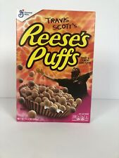 Travis Scott x Reeses Puffs Cereal 11.5 oz Box. Limit Edition New Sold Out Jack
