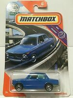 1969 BMW 2002 ROUNDIE RARE 1/64 SCALE DIORAMA DIECAST MODEL CAR COLLECTIBLE