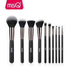 MSQ 10Pcs Blush Foundation Powder Makeup Brushes Set Eyeshadow Lip Brush Tools