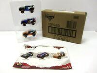 Disney Pixar Cars XRS Mud Racing Jackson Storm Barry DePedal Speedy Comet 3-pack