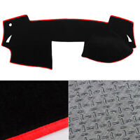 Anti-Slip Black with Red Edge Dash Mat Cover for 04/2008 ~ 06/2012 Mazda 6 GH