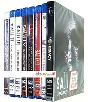 SAW - LA SAGA HORROR COMPLETA 8 FILM (8 BLU-RAY) INCLUSO SAW LEGACY
