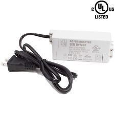 UL Listed LED Light Power supply 24v 72w LED Light Driver 3A for Strip Module