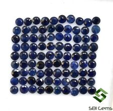 Natural Blue Sapphire Round Cut 2 mm Lot 45 Pcs Calibrated Gemstones