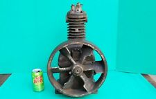 "Antique Curtis B318 Air Compressor for hit miss engine 12"" fly wheel"