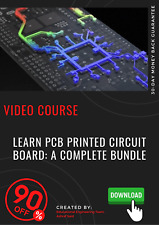Learn PCB Printed Circuit Board: A Complete Bundle video training tutorial guide