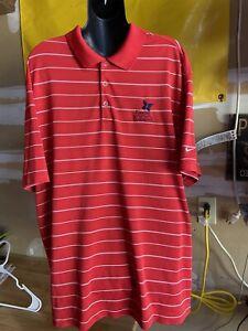 Nike Dri Fit Golf Kapalua Clambake Polo Shirt Mens XL Extra Large