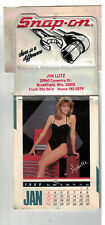 1988 Snap-On Tools Tool Chest  Calendar Pin-Up theme Un-Used