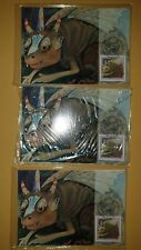 3 SEALED FDI MAXI CARDS BUNYIPS 1994 TOTAL -12 CARDS MINT CONDITION