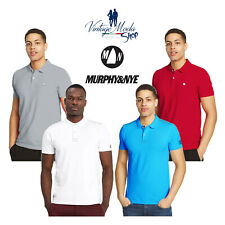 Murphy & Nye Polo Logo Bill Slim Havre Sweat Shirt Sun Piquet Uomo T-Shirt Sport