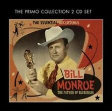 The Father Of Bluegrass: The Essential Recordings, Bill Monroe, Audio CD, New, F