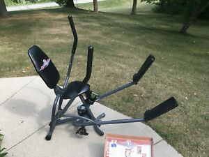 **BODY BY JAKE CARDIO CRUISER EXERCISER WITH WORKOUT BOOK DVD DIET PLAN