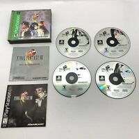 Final Fantasy VIII 8 Playstation 1 PS1 Complete CIB Excellent Authentic