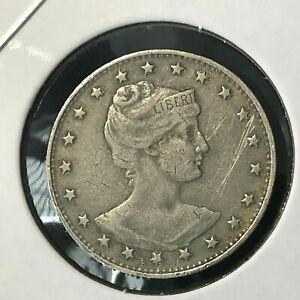 1901 BRAZIL 100 REIS NICE COIN