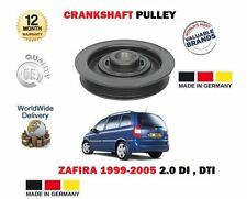 Pour VAUXHALL OPEL ZAFIRA 2.0 DI 2.2 DTI 16V 1999 - > vilebrequin Poulie Pully ceinture