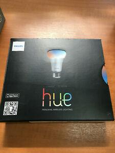 Philips Hue E27 Starter Pack 3x Color lampen, Brigde und 2x HUE Lux lampen E27