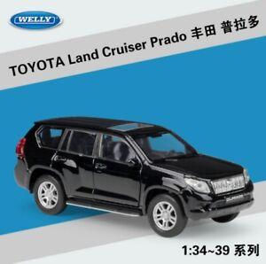 Welly 1:36 Toyota Land Cruiser Prado Diecast Model Car Pullback New in Box