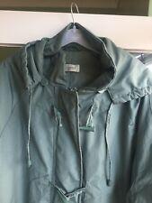 CLASSICS Ladies Teal Coat  detachable hood  size 20 duffel coat toggles jacket