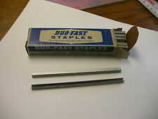 "DUO-FAST STAPLES 345-C 5/32"" LEG 5/32"" CROWN BOX OF 5000"