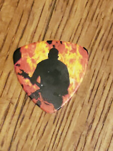 SLAYER Kerry King in flames   Final campain tour 2019 Full color Guitar pick