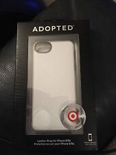 Adopted Leather Wrap For iPhone 5/5s White APH11244 New!!!