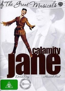 CALAMITY JANE (1953) : DORIS DAY : NEW R4 DVD