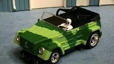 AFX/AURORA GREEN CAMO VW THING CONV, SLOT CAR - NOS BODY! HOT LOOKING RACE CAR!