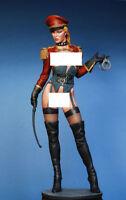 1/9 200mm Resin Figure Model Kit Big Hot Sexy Girl Women Police WWII Unpainted