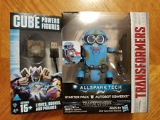 Transformers Cube Powers Figures Allspark Tech Starter Pack AutoBot SQWEEKS New