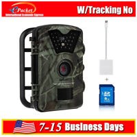 Trail Hunting Camera 12MP 1080P Infrare Night Vision+8GB+light-ning Reader Cable