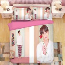 BTS get together Bedding Bedding Set Duvet/Quilt cover Pillowcase Single/Double