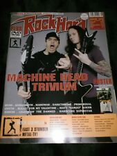 Machine Head & Trivium Rock Hard German Metal Magazine 2008* Metallica Slayer