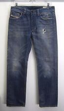 vtg Diesel Blue Jeans Larkee Button Fly distressed vintage wash sz 31x32 Italy