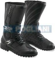 Stiefel Touring Motorrad GAERNE G-Midland Gore-Tex Schwarz TG.41 Leder Erste