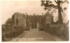 UFFCULME (Devon) : Front of Bradfield House  RP