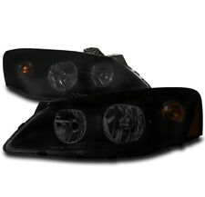 FOR 05-10 PONTIAC G6 GT REPLACEMENT HEADLIGHTS HEADLAMPS LAMPS BLACK/SMOKE LH+RH
