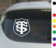 Sticker toulouse rugby stade toulousain adhésif voiture  Coloris au choix