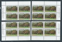 Canada #614 R.C.M.P. Centenary Matched Set Plate Block MNH *Free Shipping*