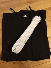 Quality Karate Light Weight Martial Arts Adult Gi Sz 3 Jacket Only + White Belt
