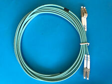 OM3 LC to LC 3M Fibre Patch Leads ( Aqua ) IN STOCK