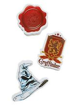 Harry Potter Sorting Hat Hogwarts Seal Gryffindor Crest Eraser Set Gift NIP!