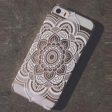 Henna Full Mandala Floral Dream Catcher Case Cover for iPhone 5 5S Original