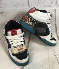 MENS OSIRIS VINTAGE HIGH TOP SHOES TRANZOR STRAP SIZE 11 BRONX