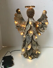 Pottery Barn Lit Birch Angel Tree Topper Christmas Tree Topper New in Box