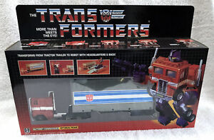 G1 1984 OPTIMUS PRIME BOXED • 100% COMPLETE • VINTAGE G1 TRANSFORMERS