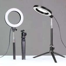 Dimmable LED Ring Light Kit Photography Selfie Light Photo Camera Youtube Live