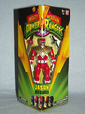 """Mighty Morphin POWER RANGERS RANGER ROSSO Legacy 5"""" Action Figure Nuovo con Scatola"""